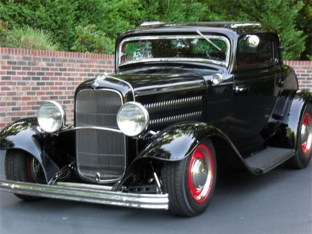 1932 ford coupe hot rod for sale for 1932 ford 3 window