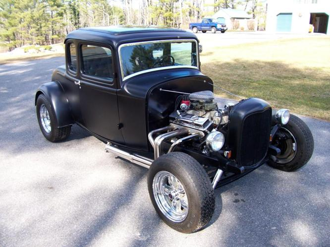 1932 Ford Older Deuce Coupe from the Era of Steel Rods