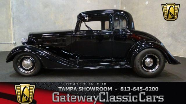 1934 Chevrolet Master 5 Window Coupe #602TPA