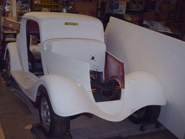 1934 ford 3 window coupe for sale in zanesville ohio classified. Black Bedroom Furniture Sets. Home Design Ideas