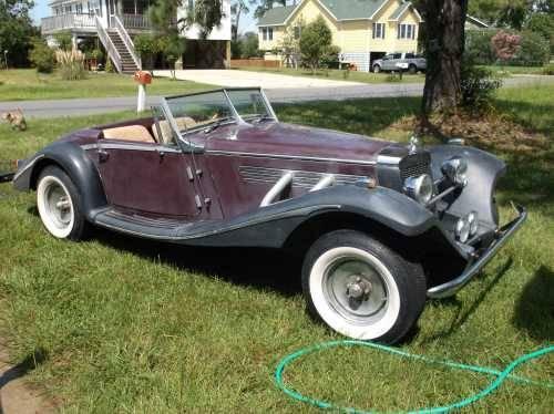 1934 mercedes benz 500k replica antique in kittyhawk nc for 1934 mercedes benz 500k heritage replica