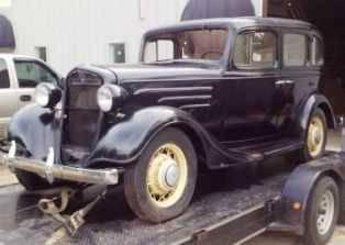 1935 chevrolet standard ec 4 door sedan antique in brandon for 1935 chevrolet 4 door sedan