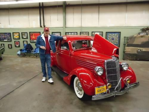 1935 Ford Five Window Coupe Steel Body for Sale in