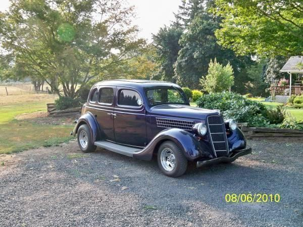 1935 ford street rod for sale or for sale in albany. Black Bedroom Furniture Sets. Home Design Ideas