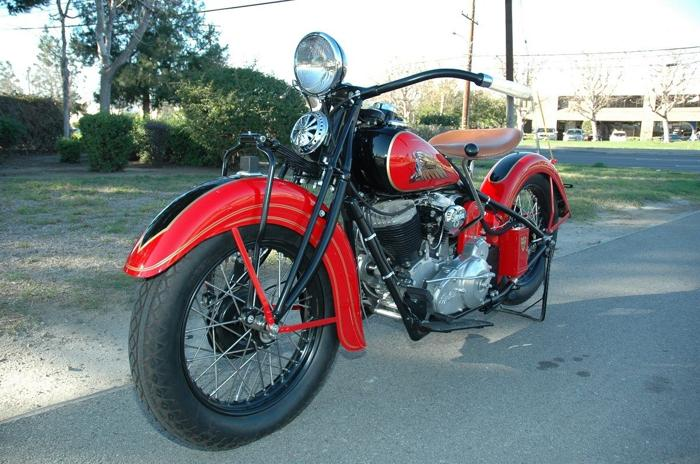 1935 Indian Chief Frame Off Restoration