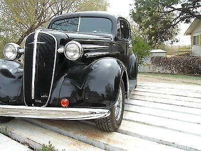 1936 CHEVROLET 2 DOOR SEDAN 454 TURBO 400 STREET ROD