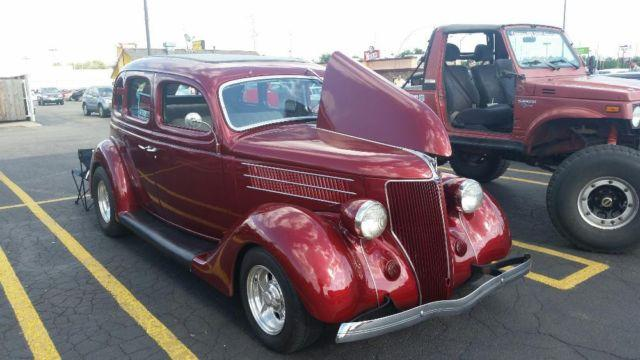 1936 ford 4 door sedan street rod for sale in wichita