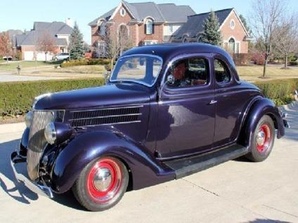 1936 ford 5 window coupe model 68 for sale in parkdale for 1936 ford 5 window coupe for sale