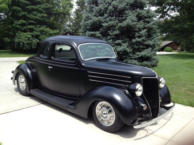 1936 Ford 5 Window Henry Steel Coupe