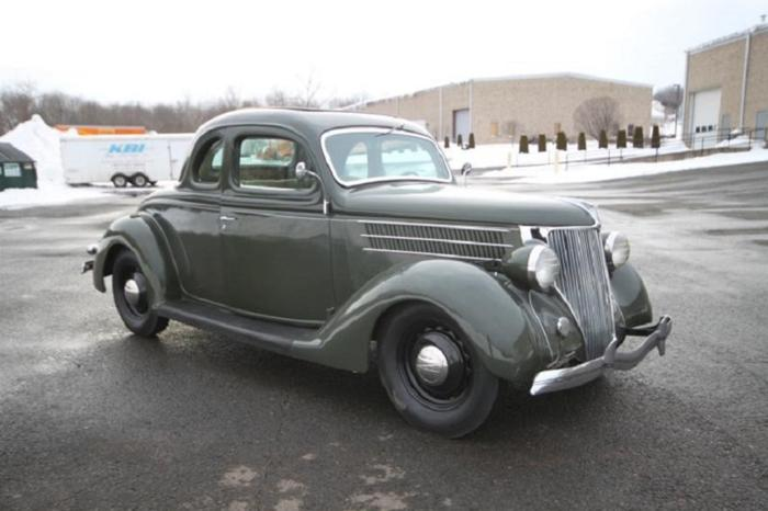 1936 Ford 5W Coupe Deluxe Hot Rod W/ Rumble Seat RWD