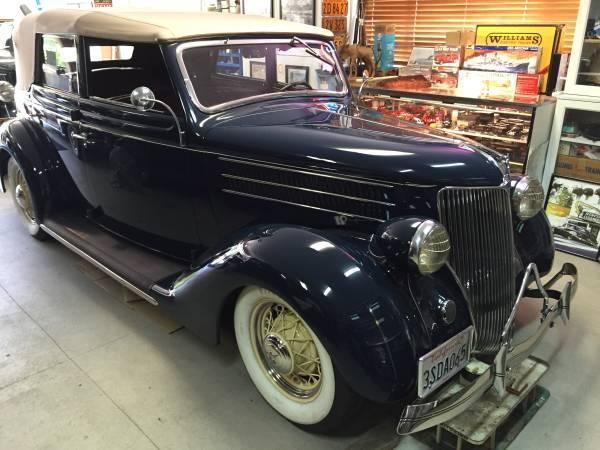 1936 Ford Convertible for sale (CA) - $55,000