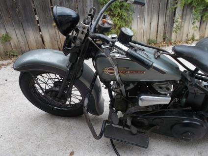 1936 Harley Davidson El Knucklehead Pre War Bike With