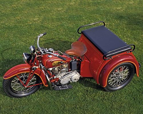1936 Indian Dispatch Tow Three Wheeler