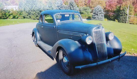 1936 plymouth 5 window coupe pa for sale in brackney