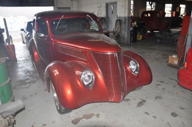 1937 Ford 2 Door Sedan Slant Back Street Rod For Sale In