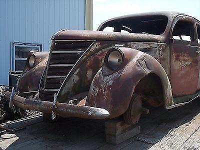 1937 Lincoln Zephyr Parts Car Project Hot Rod Rat Rod Custom For