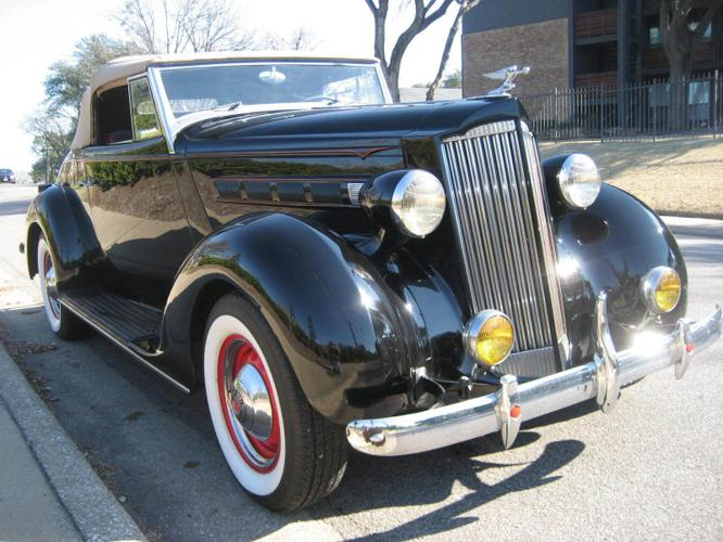 1937 Packard Model 115C Convertible Coupe