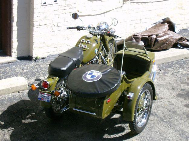 1938 Bmw R 71 Design Motorcycle And Sidecar For Sale In