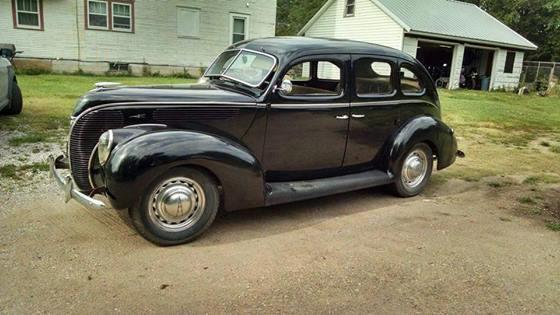 1938 ford sedan deluxe ks for sale in moundridge kansas for 1938 ford 4 door sedan