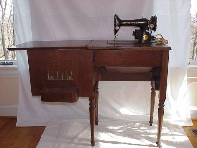1938 Singer Model 99 13 Sewing Machine W Cabinet Attachments For Sale In Leesburg Virginia
