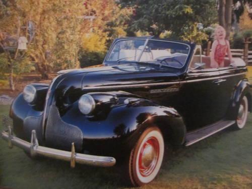 1939 Buick Special Rare 4 Door Suicide Doors Convertible