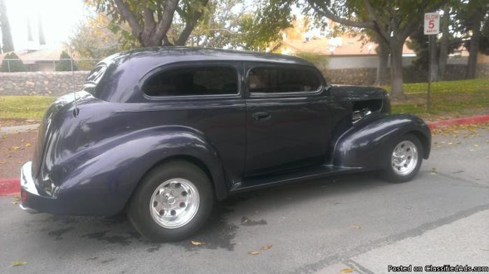 Cars For Sale In El Paso Tx >> 1939 CHEVY 2-DR SEDAN CHOPPED TOP STREET ROD for Sale in El Paso, Texas Classified ...