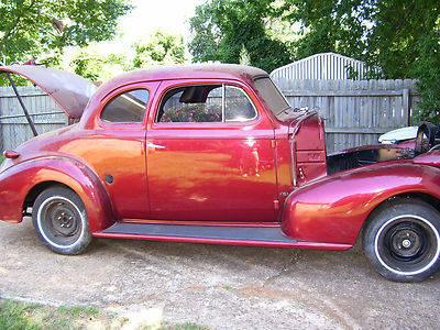 1939 chevy coupe project for sale in tuscaloosa alabama classified. Black Bedroom Furniture Sets. Home Design Ideas