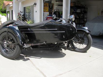 1939 Flh Harley Davidson 4 Speed W Sidecar For Sale In San