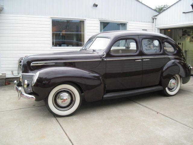 1939 mercury eight 4 door sedan for sale in medford. Black Bedroom Furniture Sets. Home Design Ideas