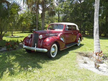 1939 Packard 4 DOOR SUPER EIGHT CONVERTIBLE - Delivery Free