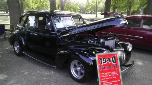 1940 chevrolet 4 door master deluxe sedan street rod for sale in wichita kansas classified. Black Bedroom Furniture Sets. Home Design Ideas