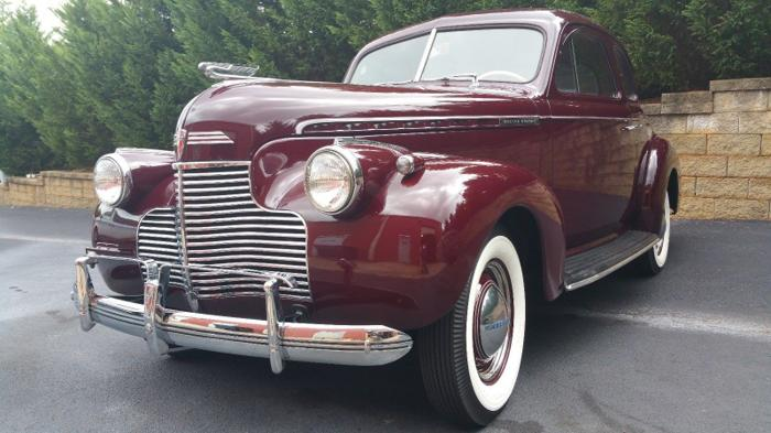 1940 Chevrolet Master Deluxe Business Coupe 6 Cyl