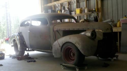 1940 Chevy 2 Door Sedan 4 Quot Chopped Top Project Car
