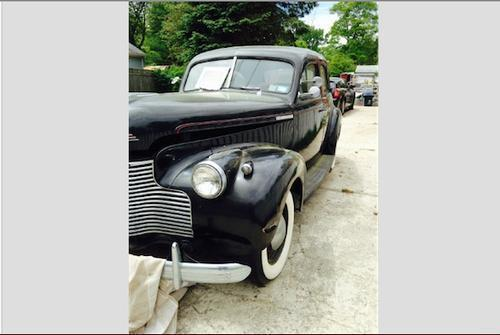 1940 chevy master 85 4 door sedan for sale in east yaphank for 1940 chevrolet 4 door sedan
