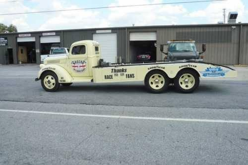 Front Wheel Drive Hauler : Ford custom nascar hauler classic truck in mauldin
