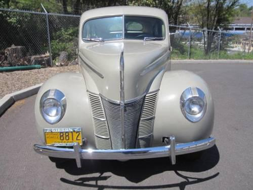 1940 ford deluxe 4 door sedan original owner 43000. Black Bedroom Furniture Sets. Home Design Ideas