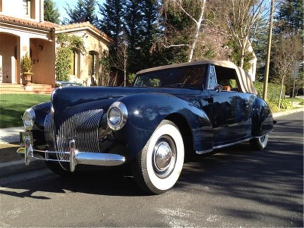 1940 lincoln continental for sale in benicia california. Black Bedroom Furniture Sets. Home Design Ideas