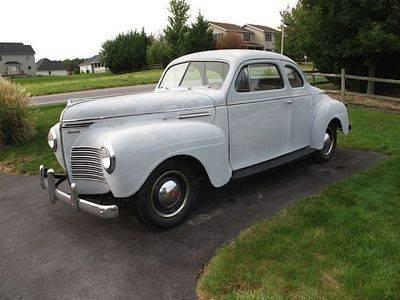 1940 Plymouth P-10 Deluxe Business Coupe