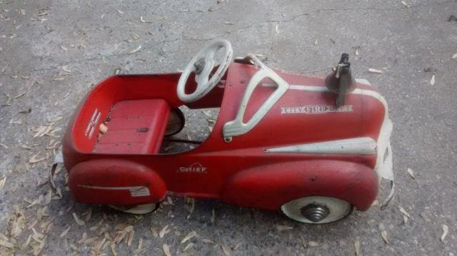 1940's All Original Child's Pedal Car