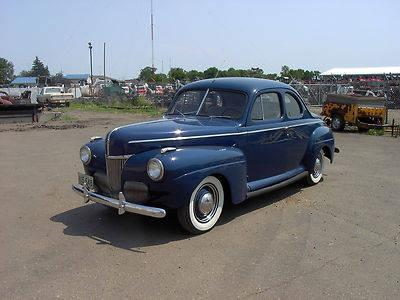 1941 41 ford flathead v8 business coupe very nice for sale in fort rice north dakota. Black Bedroom Furniture Sets. Home Design Ideas