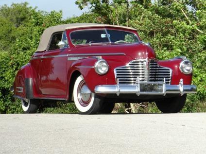 1941 Buick Fireball Series 50 Super Worldwide Shipping