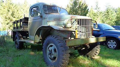 1941 dodge power wagon 4x4 military truck ww2 classic antique for sale in port orchard. Black Bedroom Furniture Sets. Home Design Ideas