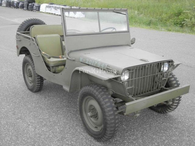 1941 ford gp world war 2 prototype jeep prewar ll ii military army for sale in zimmerman. Black Bedroom Furniture Sets. Home Design Ideas