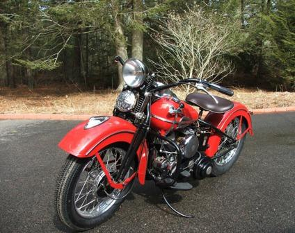 1941 harley davidson wld in new restored condition for sale in