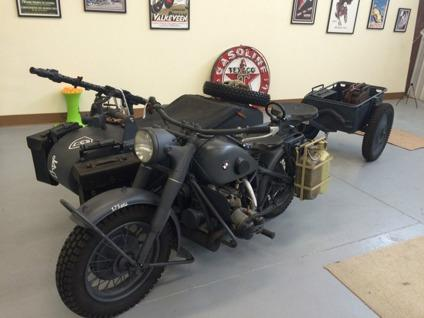 1942 BMW R75 Military Motorcycle