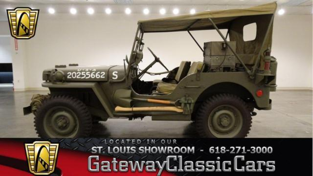 1942 jeep willys 6680stl for sale in shiloh illinois classified. Black Bedroom Furniture Sets. Home Design Ideas
