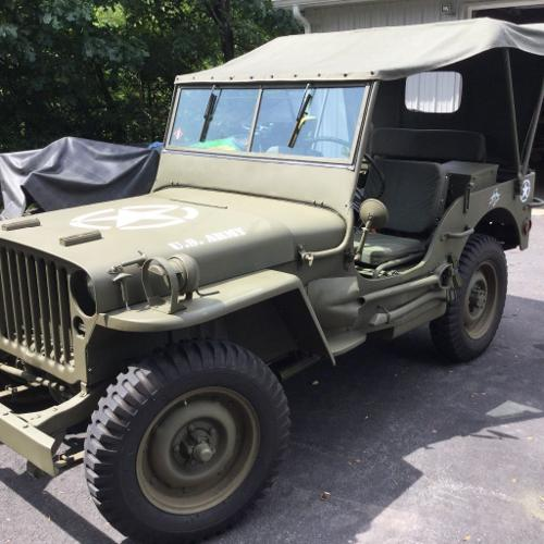1943 Willys MB Jeep Complete Restoration For Sale In