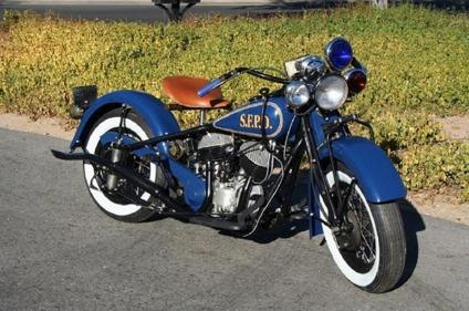 1945 indian chief san francisco police motorcycle for sale in houston texas classified. Black Bedroom Furniture Sets. Home Design Ideas