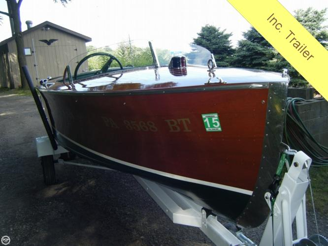 1946 chris craft 17 for sale in erie pennsylvania classified. Black Bedroom Furniture Sets. Home Design Ideas