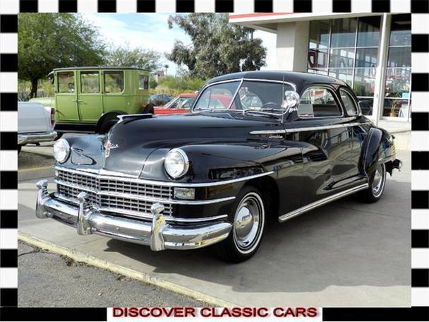 1946 Chrysler Windsor 1946 Chrysler Windsor Classic Car